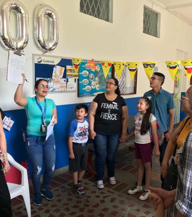 Programa Familia - Unidad de rehabilitación del Instituto para niños ciegos y sordos del Valle del Cauca