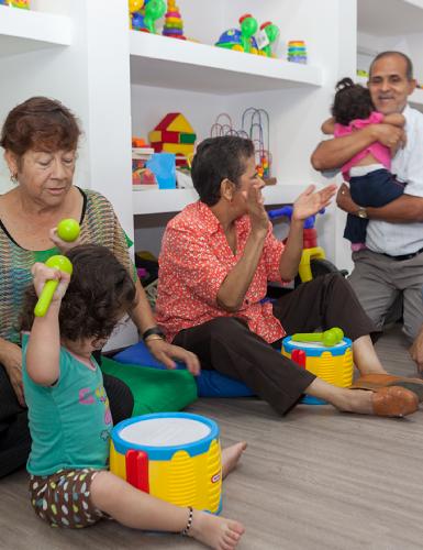 Actividades de Primera Infancia - Unidad de rehabilitación del Instituto para niños ciegos y sordos del Valle del Cauca