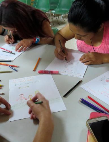 Actividades Programa Familia - Unidad de rehabilitación del Instituto para niños ciegos y sordos del Valle del Cauca