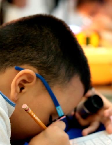 Actividades para Discapacidad Visual - Unidad de rehabilitación del Instituto para niños ciegos y sordos del Valle del Cauca