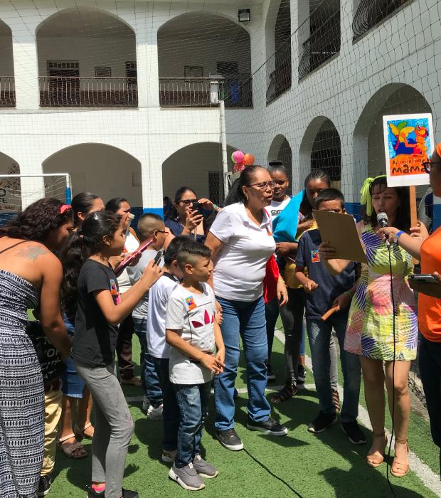 Programa Familia en Cali - Unidad de rehabilitación del Instituto para niños ciegos y sordos del Valle del Cauca