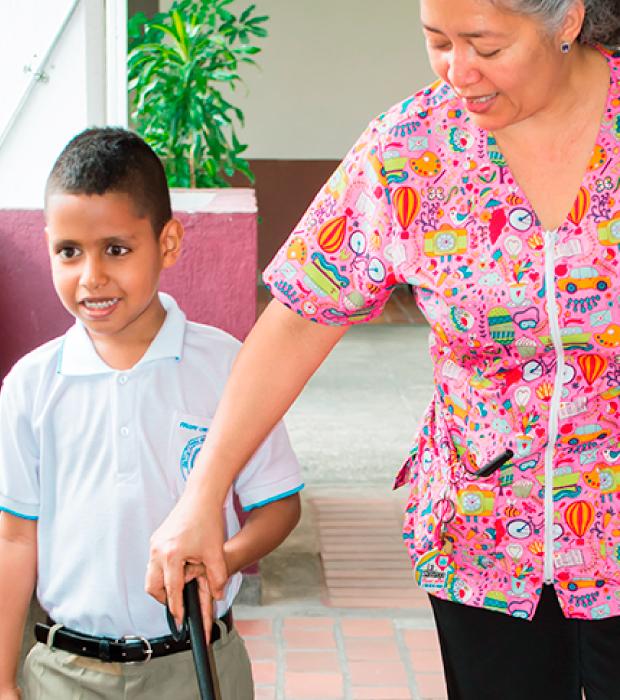 Equipo de Trabajo - Unidad de rehabilitación del Instituto para niños ciegos y sordos del Valle del Cauca