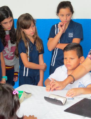 Actividades de Inclusión - Unidad de rehabilitación del Instituto para niños ciegos y sordos del Valle del Cauca