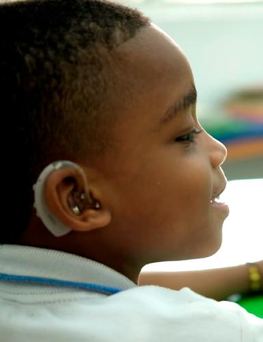 Actividades para Discapacidad Auditiva - Unidad de rehabilitación del Instituto para niños ciegos y sordos del Valle del Cauca